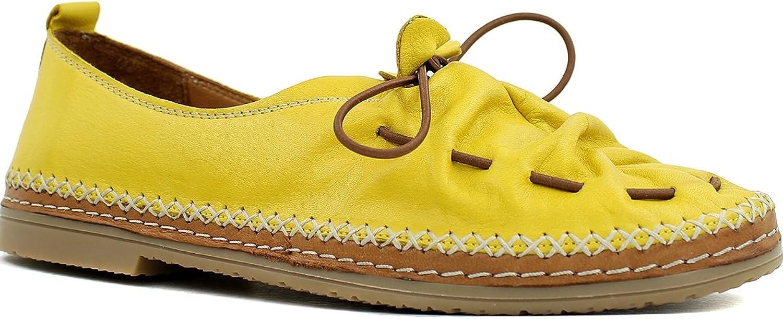 Lemon 'n Lime Gigi Casual Tie Flat in Yellow, 38 EU
