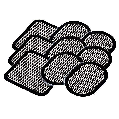 Coomatec 9 PCS Gel Pads Replacement Unit Set Pack for All Abdominal Belts