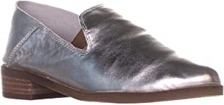 Womens Cahill Leather Slip On Smoking Loafers