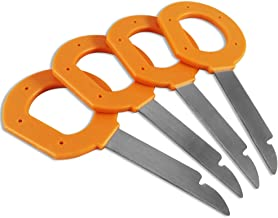 ATLIN Radio Removal Tool Set for Volkswagen, Audi, and Mercedes Vehicles - 4 Pack