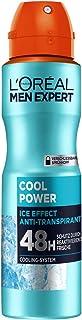 L'Oréal Men Expert środek do pielęgnacji ciała, dezodorant w sprayu dla mężczyzn z wbudowanym systemem chłodzenia, zapewni...