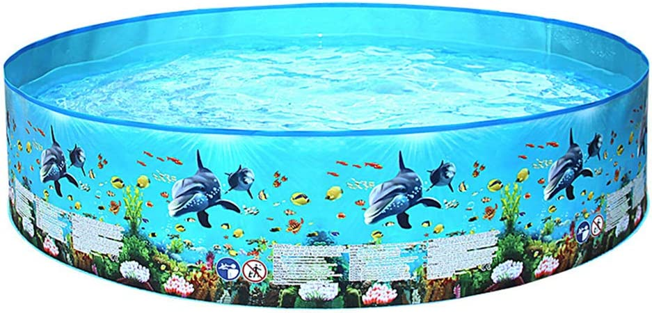 Outbool Inflatable Kiddie Pool,Inflation-Free Hard Plastic Max 73% OFF Large discharge sale