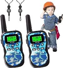 Kids Walkie Talkies, Radio Toy & Handheld 5 Miles Long Range 22 Channel, Kids Toys Outdoor Adventure Camping Game Parent-ChildInteraction GiftforChildren