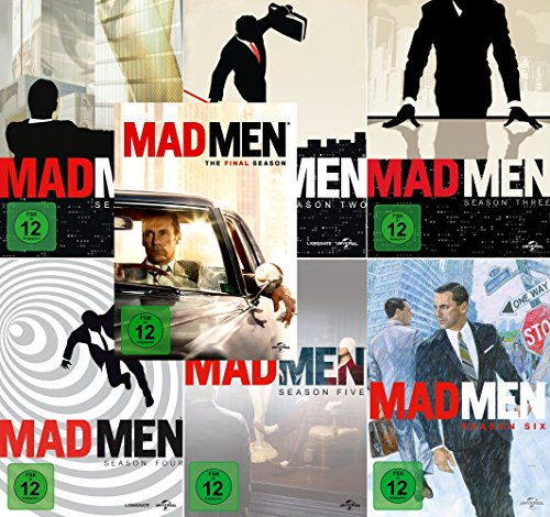 Mad Men - Season 1 - 7 komplett im Set - Deutsche Originalware [30 DVDs]