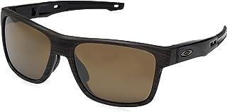 9168a70940057 Óculos de Sol Oakley Crossrange OO9361 Marrom Madeirado Lentes Polarizadas  Prizm