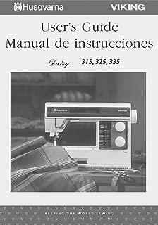 Husqvarna Viking Daisy 315 325 335 User Owners Manual [Plastic Comb]