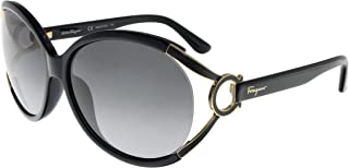 Salvatore Ferragamo Sunglasses SF600S 001 Black 61 14 130