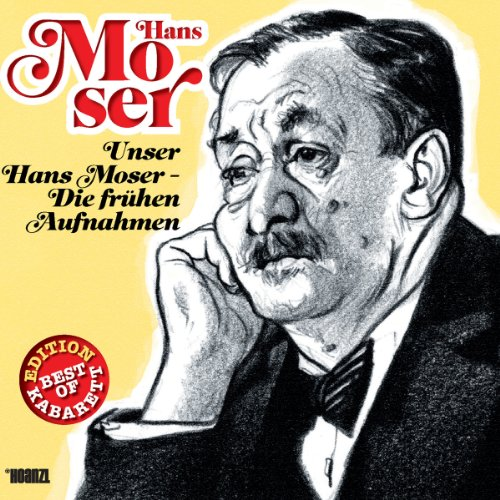 Hans Moser audiobook cover art