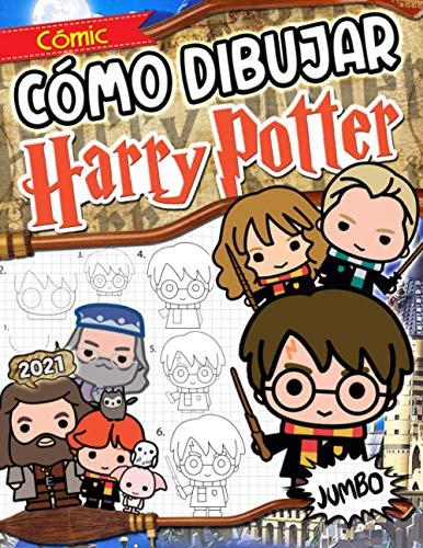 Cómo Dibujar Harry Potter: Harry Potter Libro De Dibujos: Dibujos Paso A Paso Con El Libro De Colorear No Oficial