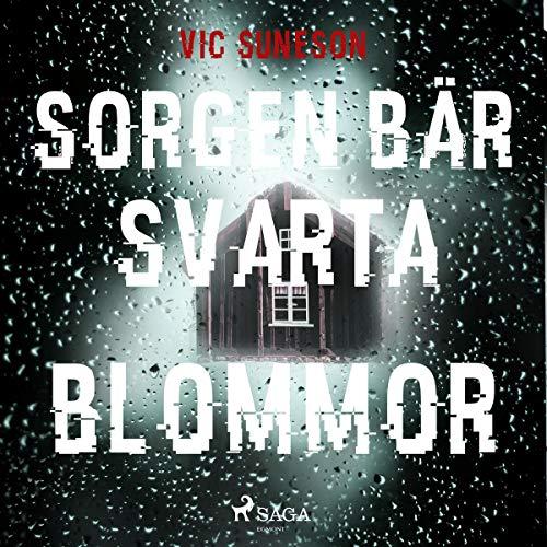 Sorgen bär svarta blommor audiobook cover art