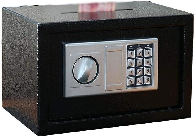 Cajas fuertes de gabinete Carga Frontal caja fuerte de efectivo Bóveda Drop Lock Por dinero de la joyería de acero Los objetos de valor fuerte de hogar y oficina del gabinete de