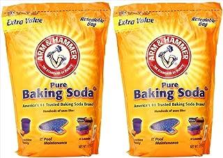 Arm & Hammer Pure Baking Soda 27 lbs. (2-Pack)