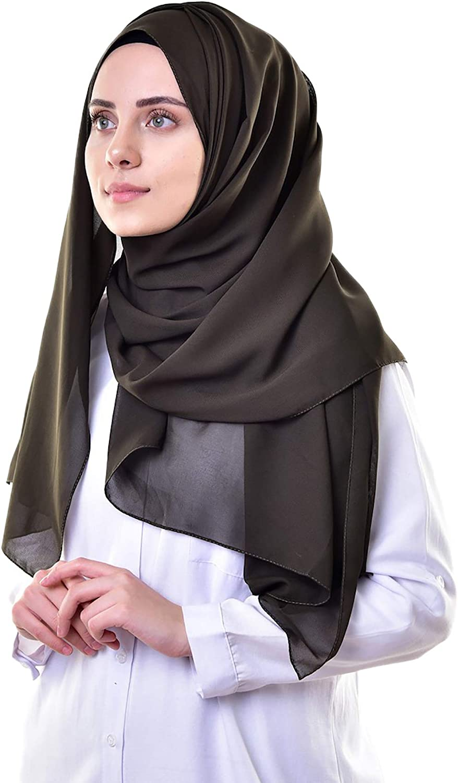 Women's New Viscose Scarf Ladies Wrap Hijab