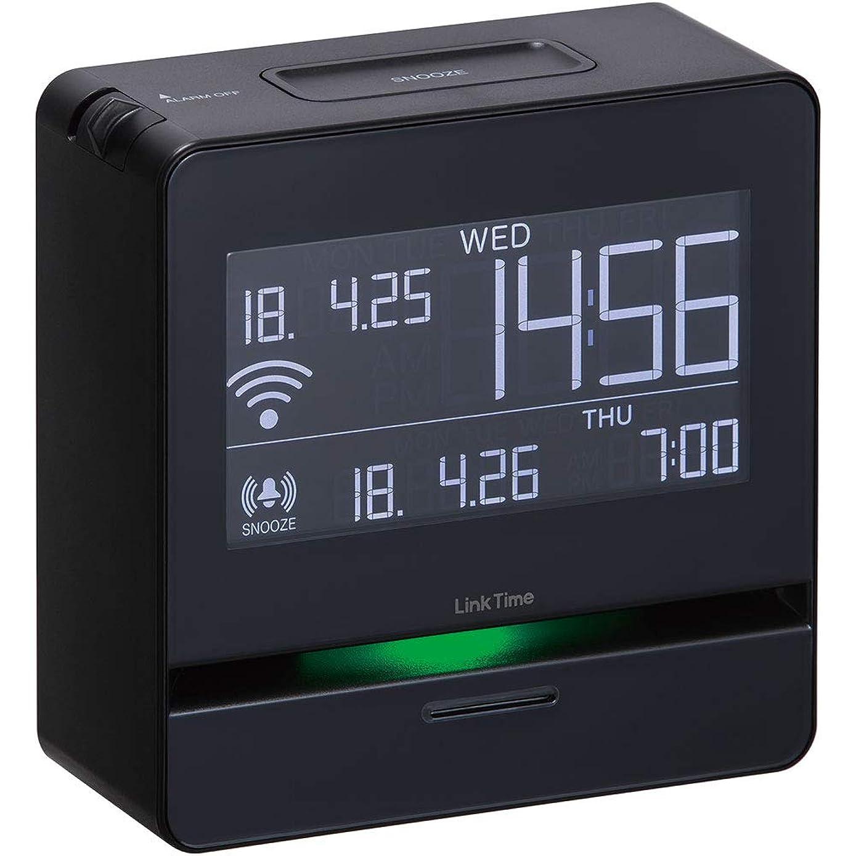 冷凍庫ドール不従順キングジム 時計 スマートアラーム リンクタイム 黒 LT10??