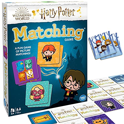 Ravensburger Wizarding World of Harry Potter Matching Game for Boys & Girls Age 3 and Up - A Fun & Fast Magical Memory Game You Can Play Over & Over