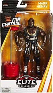 Wrestling WWE Mattel Elite Collection Fan Central Exclusive Mark Henry 6 inch Action Figure
