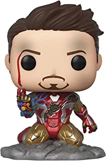 Funko Pop! Avengers Endgame: I Am Iron Man Glow-in-The-Dark Deluxe figura de vinilo, multicolor