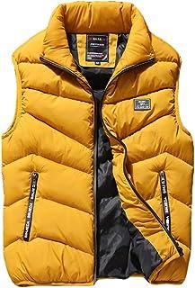 341de711e3a Maca.lina Down Vest Warm Sleeveless Jacket Down Cotton Light Weight  Packable Travel Outwear Zipper