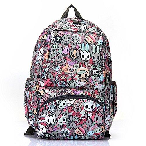 Sincere® Fashion Backpack / Zipper Sacs à dos / Rue mode / Multifonction / Mode schoolbag / loisirs sac à main / polyester sac imperméable à l'eau 1