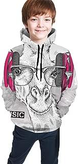 sweatshirts with headphones in drawstrings