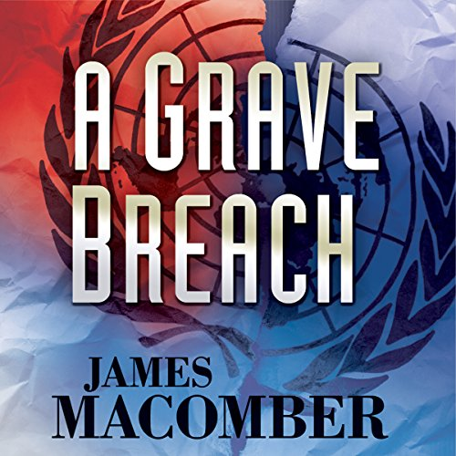 A Grave Breach audiobook cover art