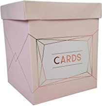 Luck Neviti Geo Blush - Wedding Card Post Box