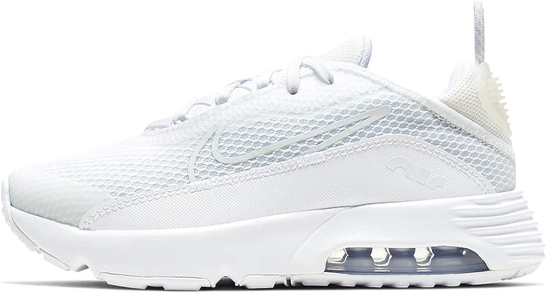 Amazon.com | Nike Air Max 2090 Pvs Sneaker bianca Da Bambino ...