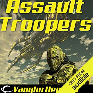 Assault Troopers audiobook cover art