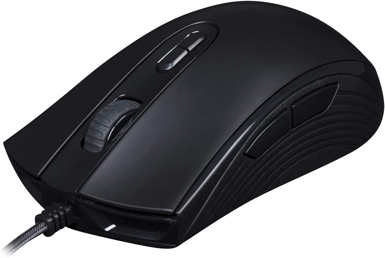 HyperX Pulsefire Core - RGB Gaming Mouse, Software Controlled RGB Light Effects & Macro Customization, Pixart 3327 Sensor up to 6,200DPI, 7 Programmable Buttons, Mouse Weight 87g