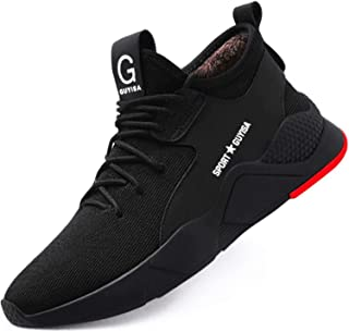 tqgold® S3 Chaussures de sécurité légères et sportives Pour homme et femme Avec coque en acier