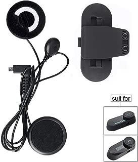 Soft Mic Speaker + Clip for FreedConn TCOM-SC T-COMVB Helmet Communication System (Soft Mic Speaker + Clip)