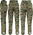 Army Universe Woodland Digital Camo Military BDU Cargo Pants with Pin (W 31-35 - I 29.5-32.5) M