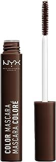 Nyx Professional Makeup Color Mascara, Brown, 9ml