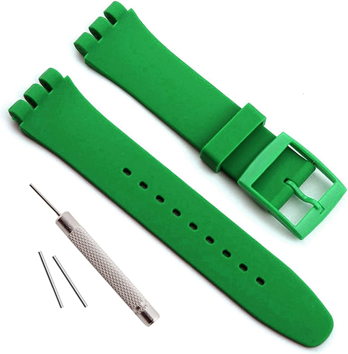 OliBoPo Replacement Waterproof Silicone Rubber Dealing quality assurance full price reduction Strap Watch