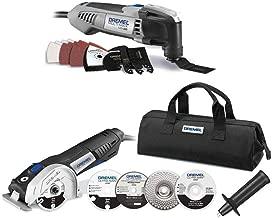 Dremel MM30 Oscillating Tool Kit and Circular Saw Kit (Renewed)
