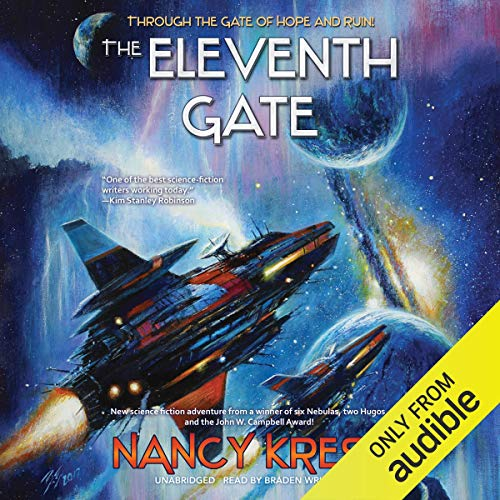 The Eleventh Gate audiobook cover art