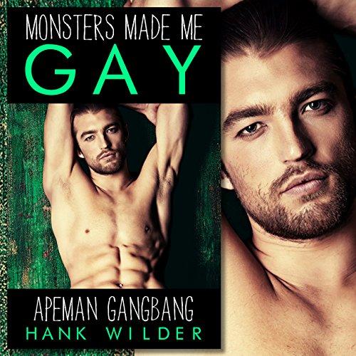 Apeman Gangbang audiobook cover art