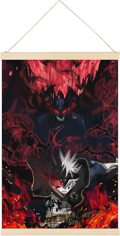 Limited time sale Black Clover Product Anime Demon 3-1 Japanese Dec Poster Art Frame