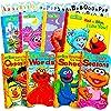 セサミストリート アルティメットボードブックセット 幼児用 ボードブック8冊 ストーリーブックとアルファベットステッカー付き ABCセット