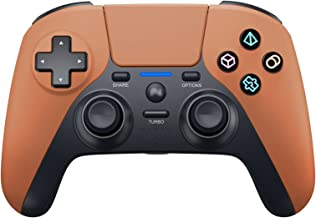 $52 » KJYT Wireless Controller for PS4, Game Controller Joystick, Vibration/Built-in Speaker/USB Cable/Mini LED Indicator, for P...