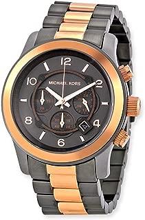 Runway Chronograph Two-tone Unisex Watch MK8189