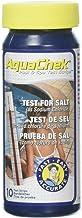 AquaChek 561140A Salt Water Swimming Pool Test Strips - White, 1-Pack