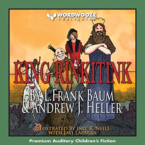 King Rinkitink audiobook cover art