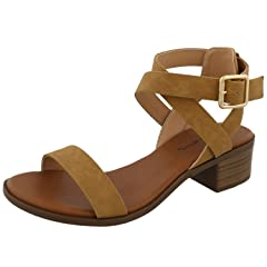 45c8b3614ab20 Top Moda Ankle Strap - Casual Women's Shoes