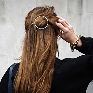 Artio Minimalist gold hair accessories brass hair clip for women and girls HCl-9507