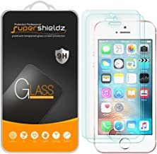 Supershieldz (2 Pack) for iPhone SE (1st Gen, 2016 Edition), iPhone 5, iPhone 5S, iPhone..