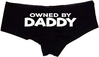 Owned by Daddy Booty Shorts Boyshort Cotton Bikini Bottom Sexy Panties