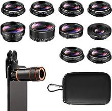 Phone Camera Lens, Cell Phone Lens Kit, 8X Zoom Lens/Fish...