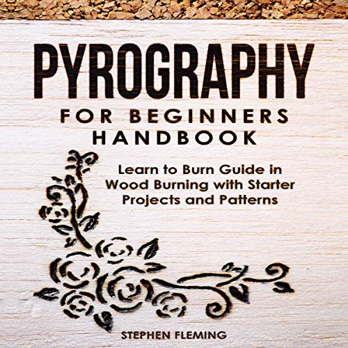 Pyrography for Beginners Handbook cover art