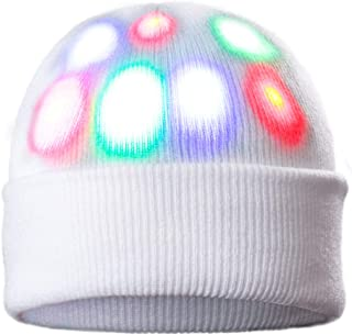 DX DA XIN Light up Hat Beanie LED Christmas Hat for Adults Women Men Kids Girls Boys Novelty Funny Hat Gifts
